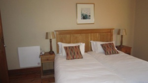 Oak Tree Lodge 2 single beds
